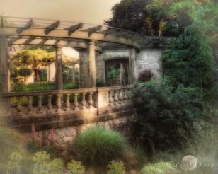Hatley Gardens Portico