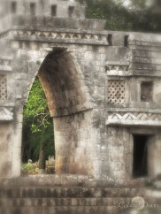Labna- the mayans believed that passing through a gate was to enter another dimension. It was a sacred ritual and undertaking.