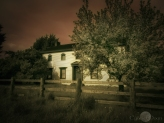 the old farmhouse is waiting, (infrared colour mix)