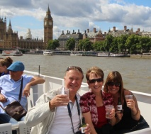 with Keith on the Thames