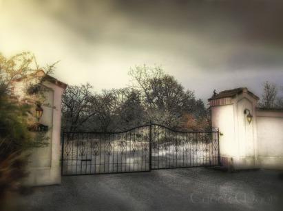 the roadside gate
