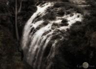 thundering at Englishman Falls