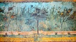 a famous Roman garden frescoe