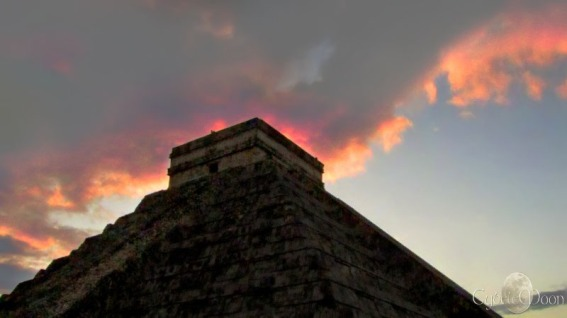 The fire of Kukulkan
