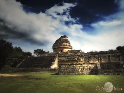 El Caracol, the mayan observatory