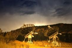 Radio Observatory in Okanagan, R2D2's at work