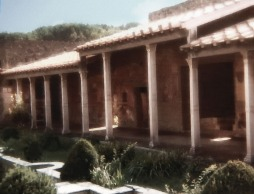 Villa garden in Pompeii - one of my old photos