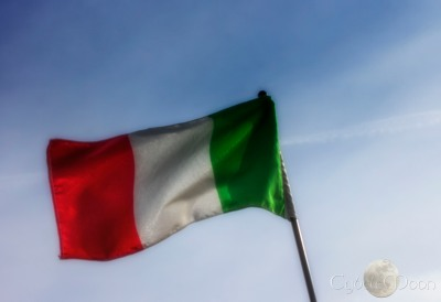 Forza Italia!! Flag edges