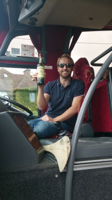 and our favourite bus driver Stephen