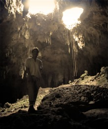 me in the Lol-tun caves