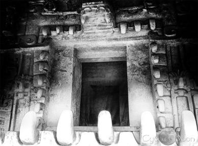 The tomb of Star Jaguar at Ek Balam