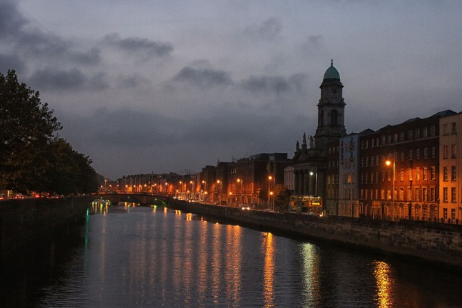 Dublin, the River Liffey