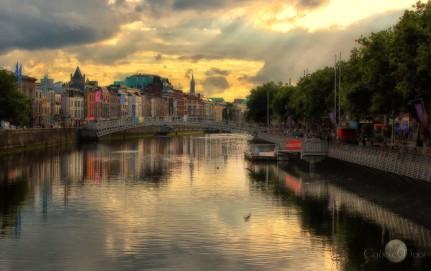 The River Liffey, Dublin