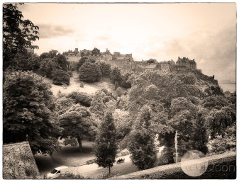 Castle from Princes Street Gardens