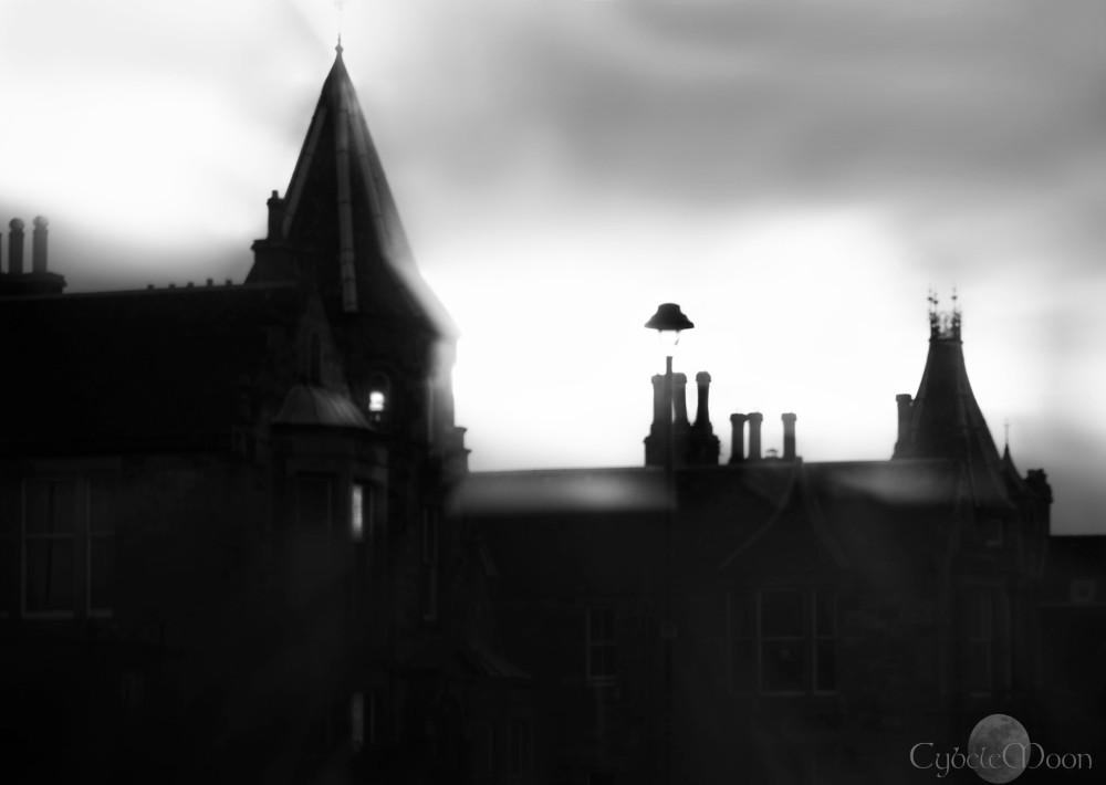 Edinburgh  my love monochrome