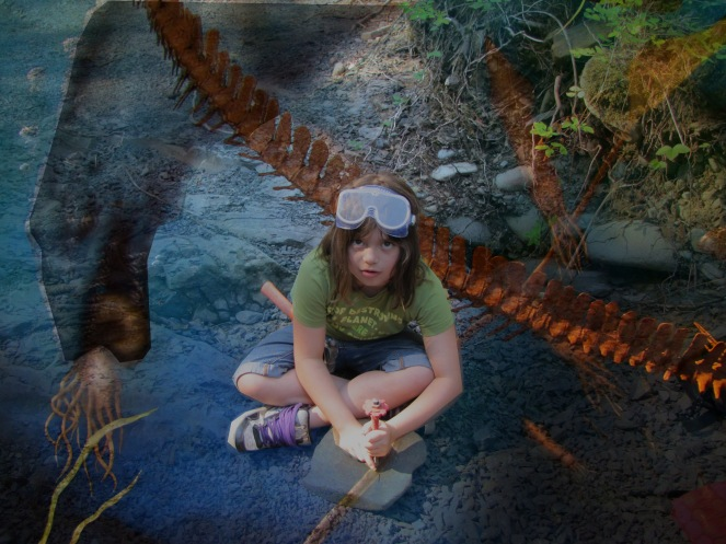a day in the life of Raven and the Mosasaur