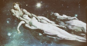 shooting stars by Jean-Francois Millet