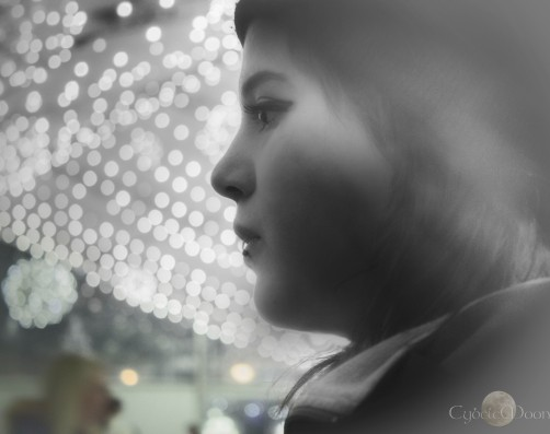 pensive at the ice rink