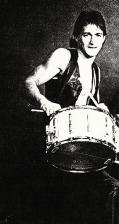 Our own little Drummer Boy
