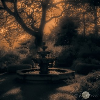 twilight fountain