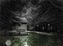 walking in County Clare- sketch effect