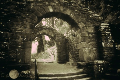 St. Kevin's Monastery Gate, Wicklow Ireland