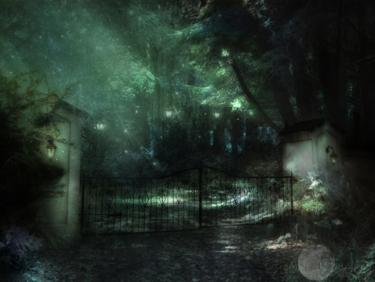 gate to tir-na-noglanterns2lightsig
