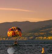 On Lake Okanagan
