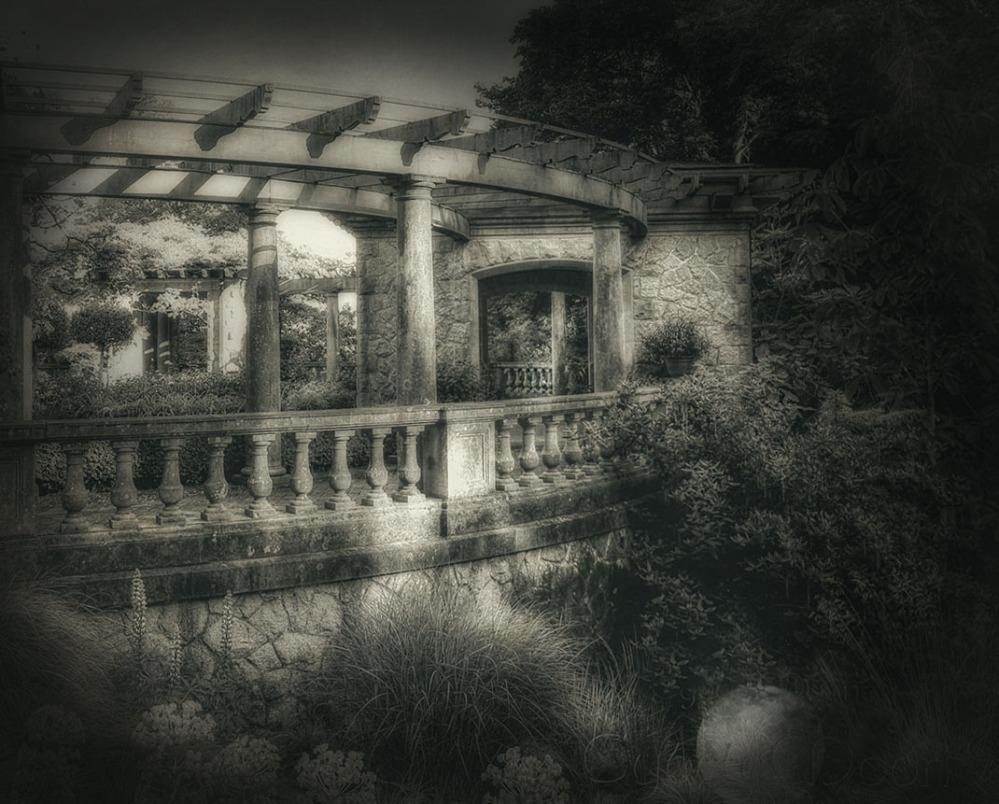 castle portico