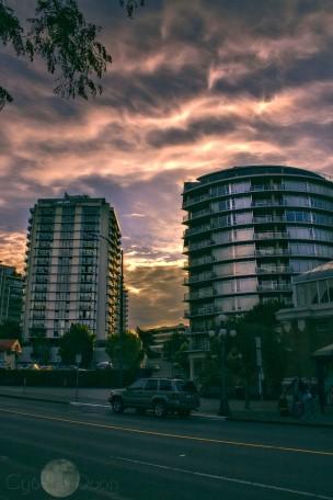 downtown dawn