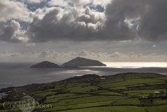 The Skelligs off the coast