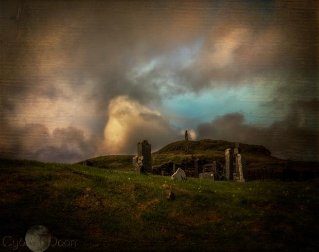 ancient church ruins skye