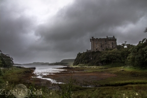 dunvegan castle clouds