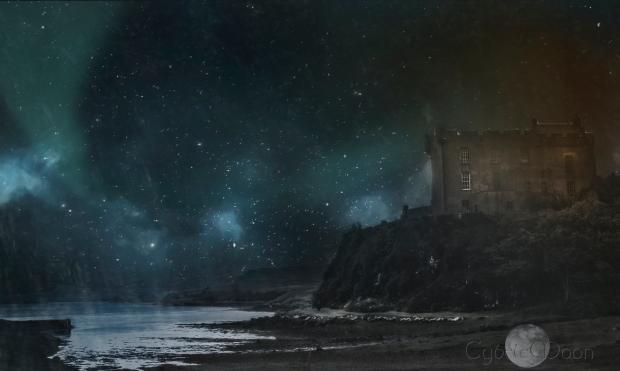 fairy castle aurora