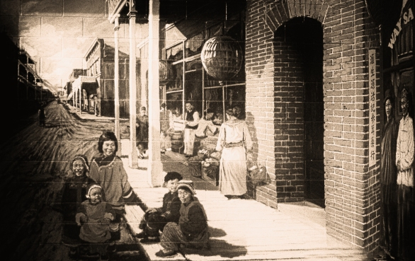 chinatown at turn of century