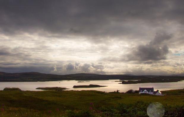 Isle of Skye roadstraight