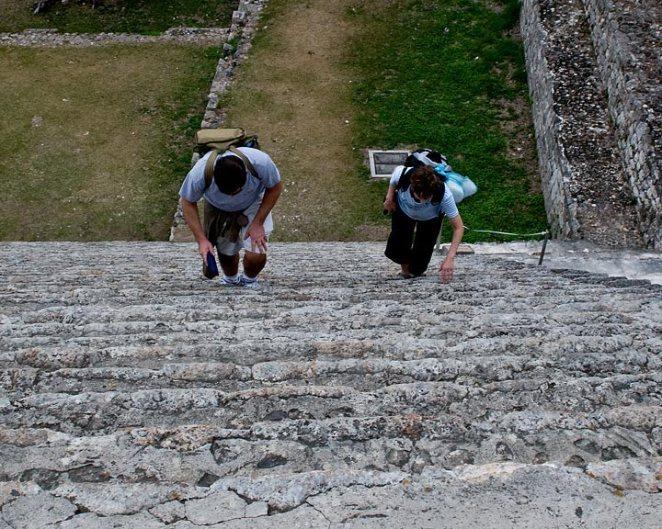 the climb (Uxmal)