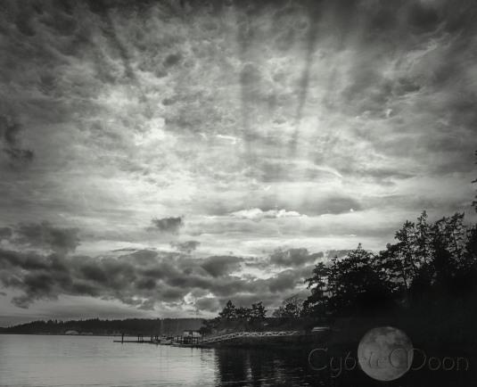 clouds mono