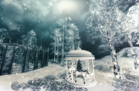 gazebo winter