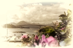 over the sea to Skye ( 1 mile bridge)