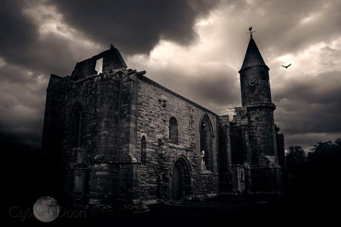 Abbey on the Black Isle, Scotland