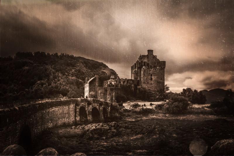 More Eileann Donan cee's sepia