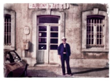 at train station in Aubigny-en-Artois