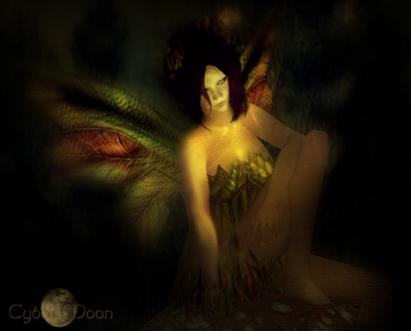Dark Fairy in the shadows