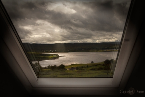 Looking out on Loch Snizort